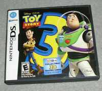 Nintendo DS Game Toy Story 3 AUTHENTIC COMPLETE TESTED & WORKING CIB