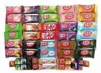 50 Japanese Kit Kat flavors list Japanese Candy box Japanese kitkat variety pack