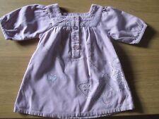 Next Girls Pretty Corduroy Dress - 12-18 Months