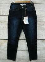 Royalty for Me Jeans Womens 10P Dark Stretch Mid Rise Skinny Tummy Control New