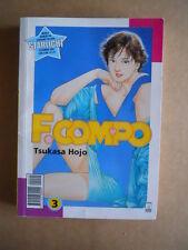 F. COMPO Tsukasa Hojo Vol. 3 edizione Star Comics [G371A]