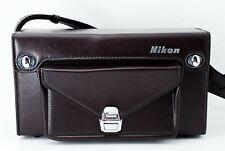 Nikon Camera Case FB-17 Leather Bag W/Shoulder Strap [Exce++] From Japan #106
