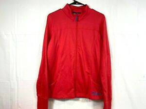 Polaris Full-Zip Lightweight Fleece Jacket Coral Adult Women's Size L 286779206