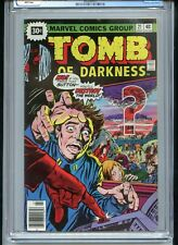 Tomb of Darkness #21 CGC 8.5 White Pages 30 Cent Variant Atomic Cover