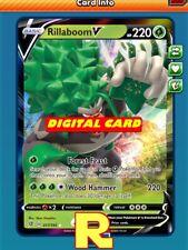 Rillaboom V - Regular Art - Pokemon TCG Online (DIGITAL ptcgo in Game Card)