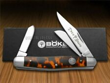 BOKER TREE BRAND Traditional Series Tortoise Shell Stockman Pocket Knife