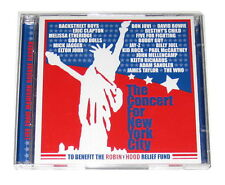 2 CDs: Various - The Concert For New York City (2001, Columbia) Bon Jovi Jay-Z