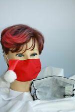 Textil Design Maske Behelfsmaske mit Innenvlies Franken