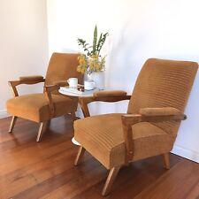 2  x  VINTAGE retro armchair arm chair mid century Eames Era danish SAO DESIGNS