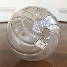 A Rare Antique Victorian Hand Blown Glass Christmas Bauble, 19th Century.