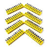 10X Screwdriver Electric Set Multi-Functional Versatile Alloy Steel Bits .