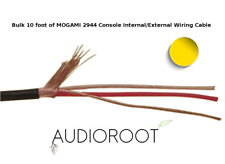Bulk 10 foot of YELLOW MOGAMI 2944 26 AWG Console Internal/External Wiring Cable