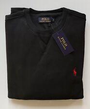 New Mens Ralph Lauren Jumper Sweatshirts Fleece Black Size Small RRR £110.00