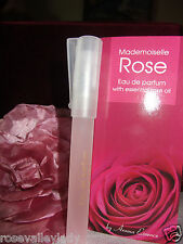 Eau De Perfume MADEMOISELLE  Rose  with  natural rose oil from  Rose Valley 8ml
