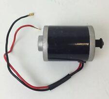 24 Volt 100 Watt Electric Scooter Motor - Belt Drive-Pulse Charger, Zinc