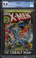 X-Men (1963) #79 CGC 9.0 Blue Label Off-White To White Pages Gil Kane Cover