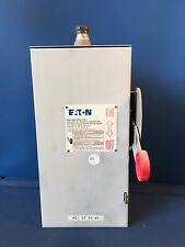 Cutler Hammer Heavy Duty Safety Switch Fusible 30A 600V 3 Ph Nema 3R Disconnect