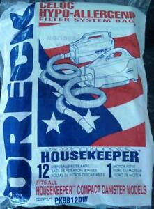 12 Bags B Oreck Xl Buster Canister Vacuum Pkbb12dw 12 Pack Housekeeper