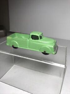 "1950 Metal TOOTSIETOY 4"" Dodge Pickup Truck Green Excellent Cond."