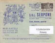 Antica e Premiata Fabbrica di Ricami Artistici,S.R.L. Serpone - Napoli  1968