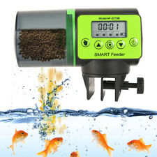 Automatic Pond Koi Fish Feeder Holiday Timer Auto Dispense Feed Digital Timer .