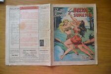 FUMETTO PANTERA BIONDA LA BELVA DI SUMATRA N. 35  15 GENNAIO 1949 L. 30