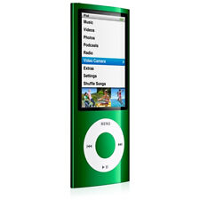 Apple iPod nano 5th Generation Green (8 GB)