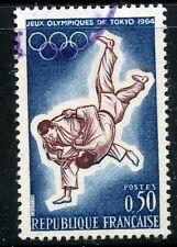 STAMP / TIMBRE FRANCE OBLITERE  N° 1428 SPORT JEUX OLYMPIQUES DE TOKYO