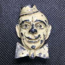 Antique Cast Metal Pencil Sharpener - Clown