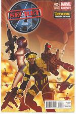 Secret Avengers #5 - Paul Renaud 1:20 Variant - Wolverine Through The Ages