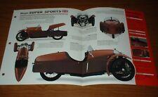 ★★1932 MORGAN SUPER SPORTS ORIGINAL IMP BROCHURE SPECS INFO 32 SS 52★★