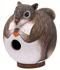Bird Houses - Squirrel Bird House - Squirrel Birdhouse - Garden - Outdoor Decor