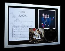 COLDPLAY Violet Hill LTD Nod CD MUSIC FRAMED DISPLAY!!
