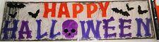 Halloween Gel Window Stick -Ons  HAPPY HALLOWEEN