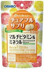 Orihiro chewable supplement multi vitamin & mineral 120 tablets japan