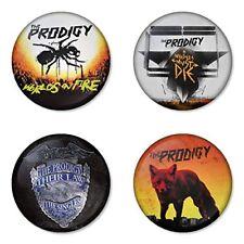 The Prodigy, C - 4 chapas, pin, badge, button
