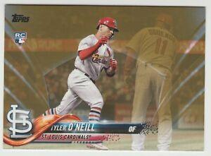2018 Topps Update Rookie TYLER O'NEILL Rc GOLD /2018 *Cardinals* Tyler Oneill Rc