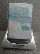 More details for  zippo - 540° colour claude monet - sunrise at sea