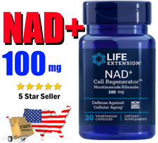 NAD+ Nicotinamide Riboside 💕 LIFE EXTENSION Cell Regenerator ⭐️ 100mg NIAGEN