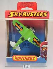 Matchbox Sky-Busters Skybusters SB-18 Wild Wind OVP #335