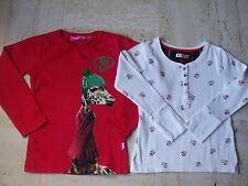 lot de 2 t-shirts fille 6 ans