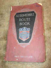 AUTOMOBILE Route Book AAA Automobile Club Youngstown Ohio 1925