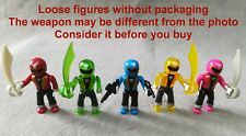 LOT of 5 Mega Bloks Power Rangers SUPER Megaforce Series 1 2 Micro Mini Figures