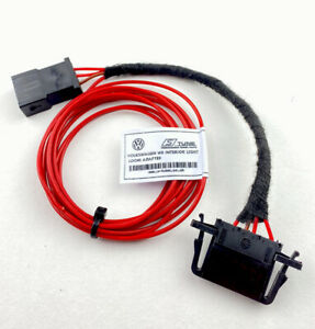 W8 Light Wiring Loom Adapter For VW GOLF/BORA/CADDY/T5/T6/PASSAT/MK4