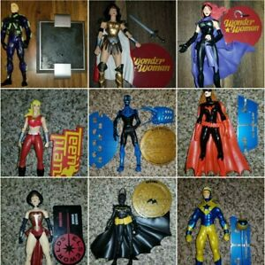 DC Direct 1st Appearance/ 52/ Wonder Woman/ Teen Titans/ Justice/ Elseworlds