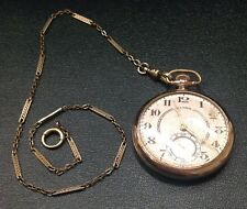 Illinois Pocket Watch With Fob Chain Size 12s {5261460}