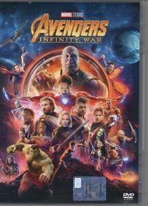 AVENGERS INFINITY WAR dvd marvel studios