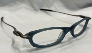 Authentic Oakley Why 1 130 Slate 11-648 40[]19 Eyeglasses Frames Only