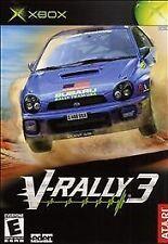 V-Rally 3 (Complete) (Microsoft Xbox, 2003)