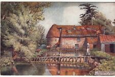 Postcard - THE OLD MILL, EAST STOKE